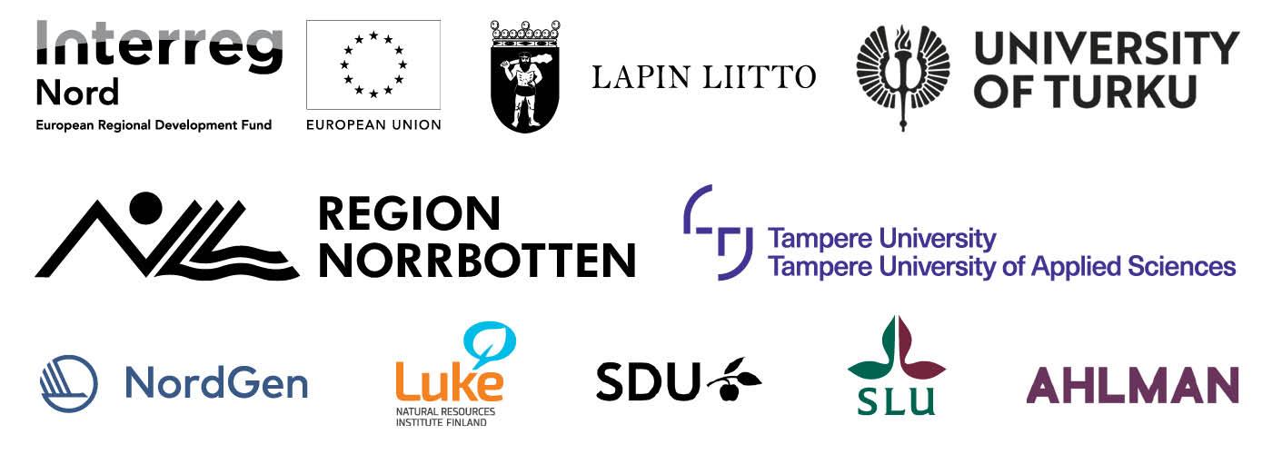 logos of 3MC project partners