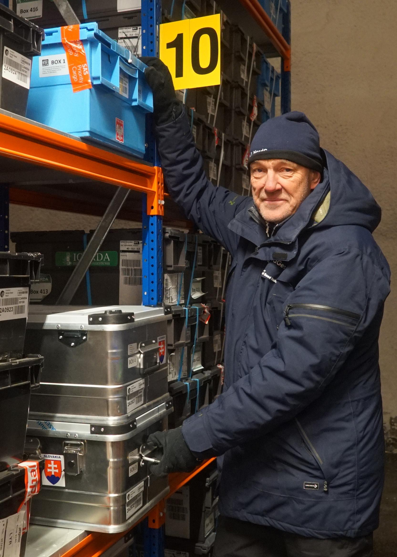 Åsmund Asdal, frövalvskoordinator