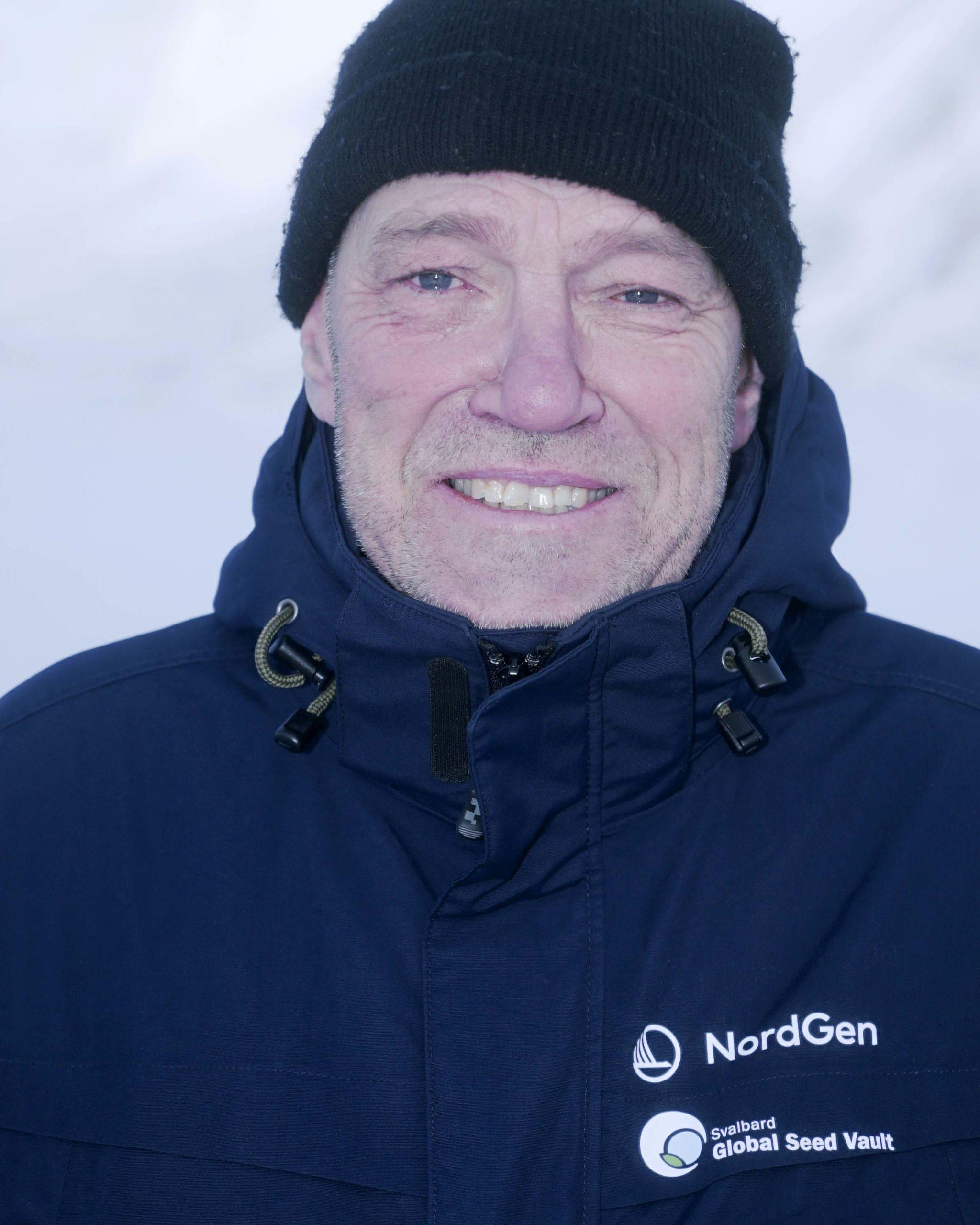 Åsmund Asdal, Seed Vault Coordinator, NordGen
