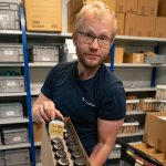 Johan Axelsson, responsible for the Seed Lab at NordGen