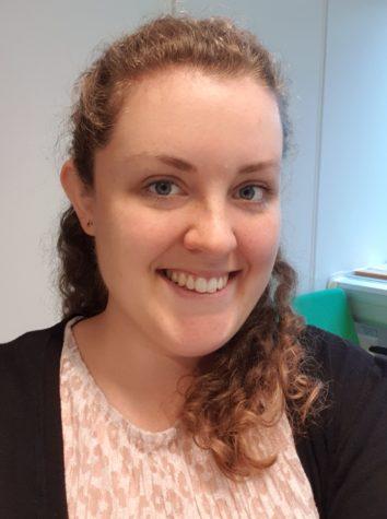 Rebecca Larsson, industrial PhD student in association with SLU and Svenska Skogsplantor